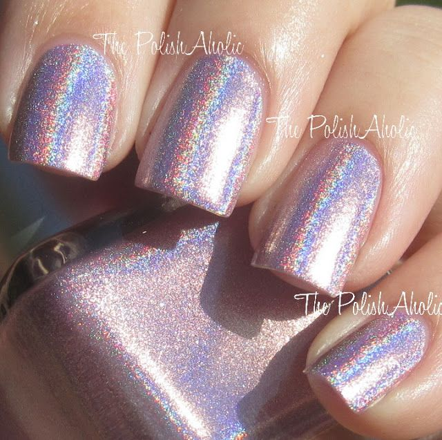 Urban Outfitters Nail Polish Pink Holo