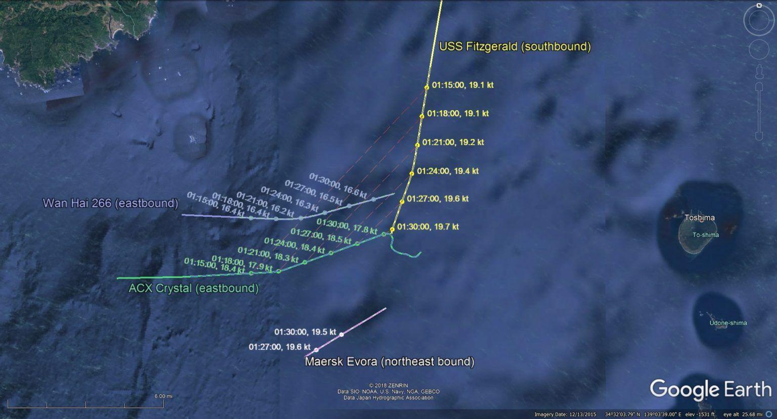 NTSB Says Navy Bridge Team Failure Caused USS Fitzgerald