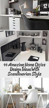 44 Amazing Home Office Design Ideas With Scandinavian Style  Pinokyo#designideas...  44 Amazing Home Office Design Ideas With Scandinavian Style  Pinokyo#designideas #designinspiration #Amazing #Design #Home #Ideas #Office #Pinokyodesignideas #Scandinavian #Style