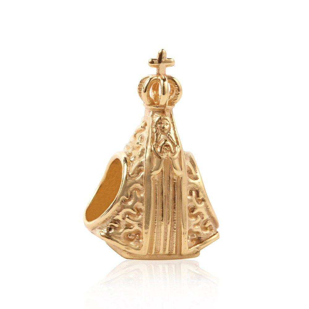 Berloque Ouro Amarelo N. Srª Aparecida Fixo  Compre na Rosana Joias    Relógios - Rosana Joias 86512eb71d