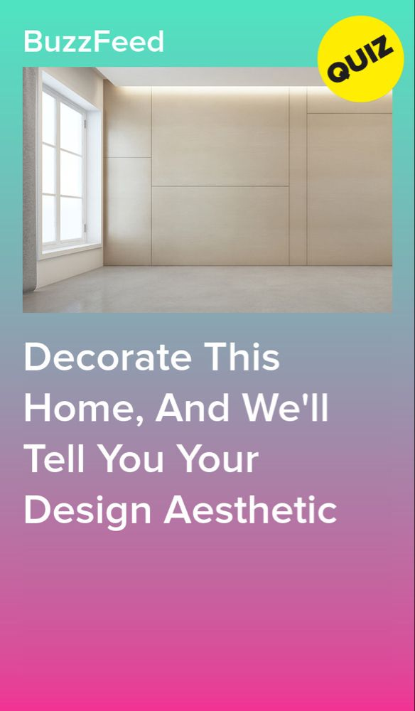 Decorate This Home, And We'll Tell You Your Design ...