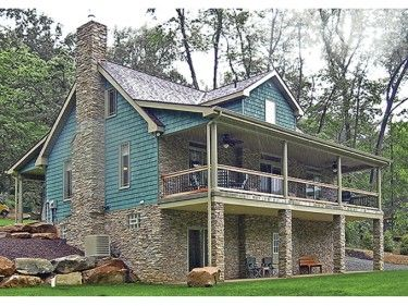 Pin By Victoria On House Plans Sloping Lot House Plan Lake House Plans Basement House Plans