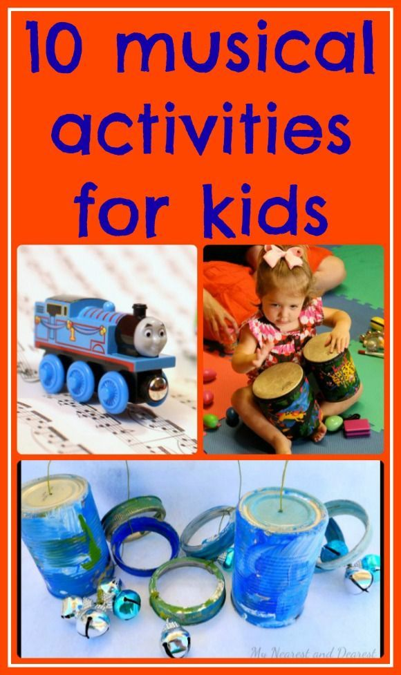 10 Musical Activities for Kids | Music activities for kids ...