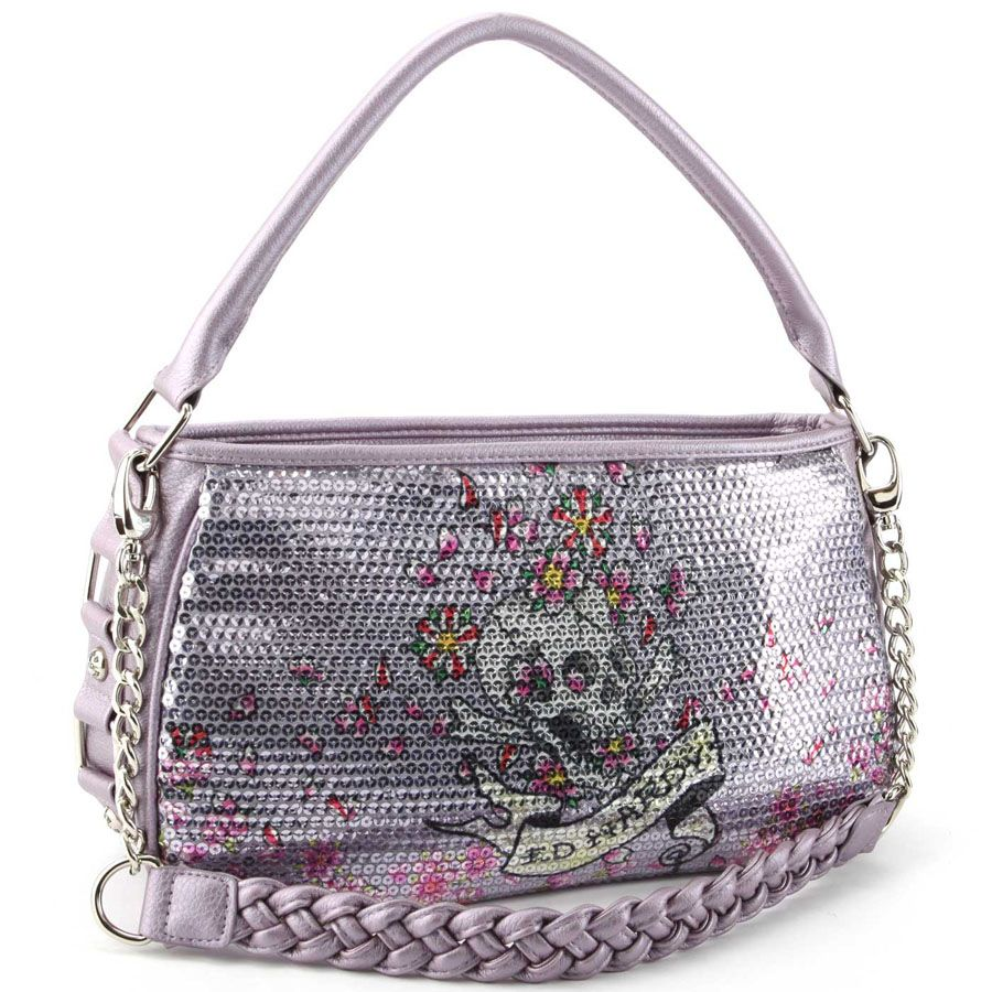 42bd75940b3c Ed Hardy Treasure Chest Agnes Hobo Bag –