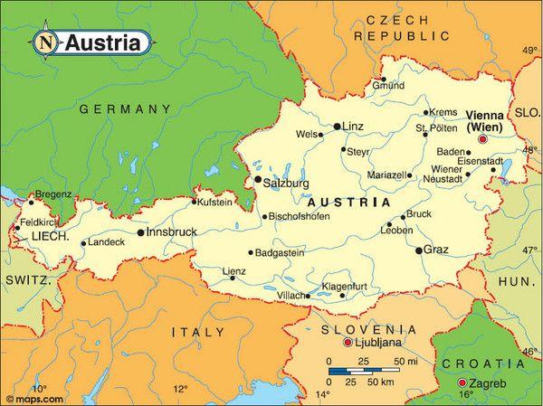 vienna austria my homeland where i was born in 1755