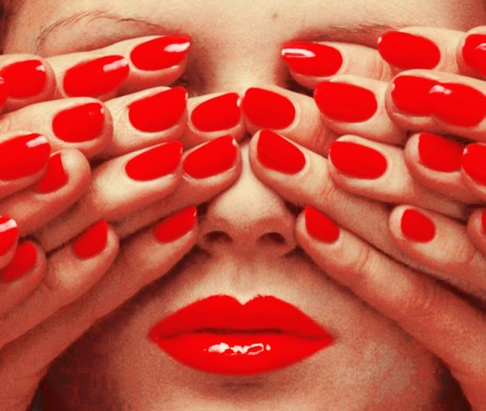 Red Lips Red Nails By Heypistol Red Nail Varnish Guy Bourdin