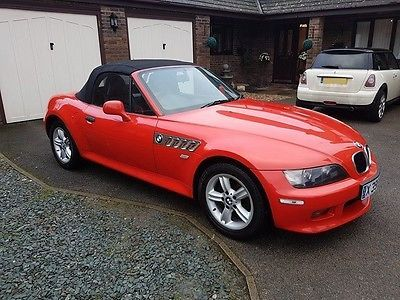2001 Bmw Z3 2 2 Sport Roadster 2d 168 Bhp Red Black Leather