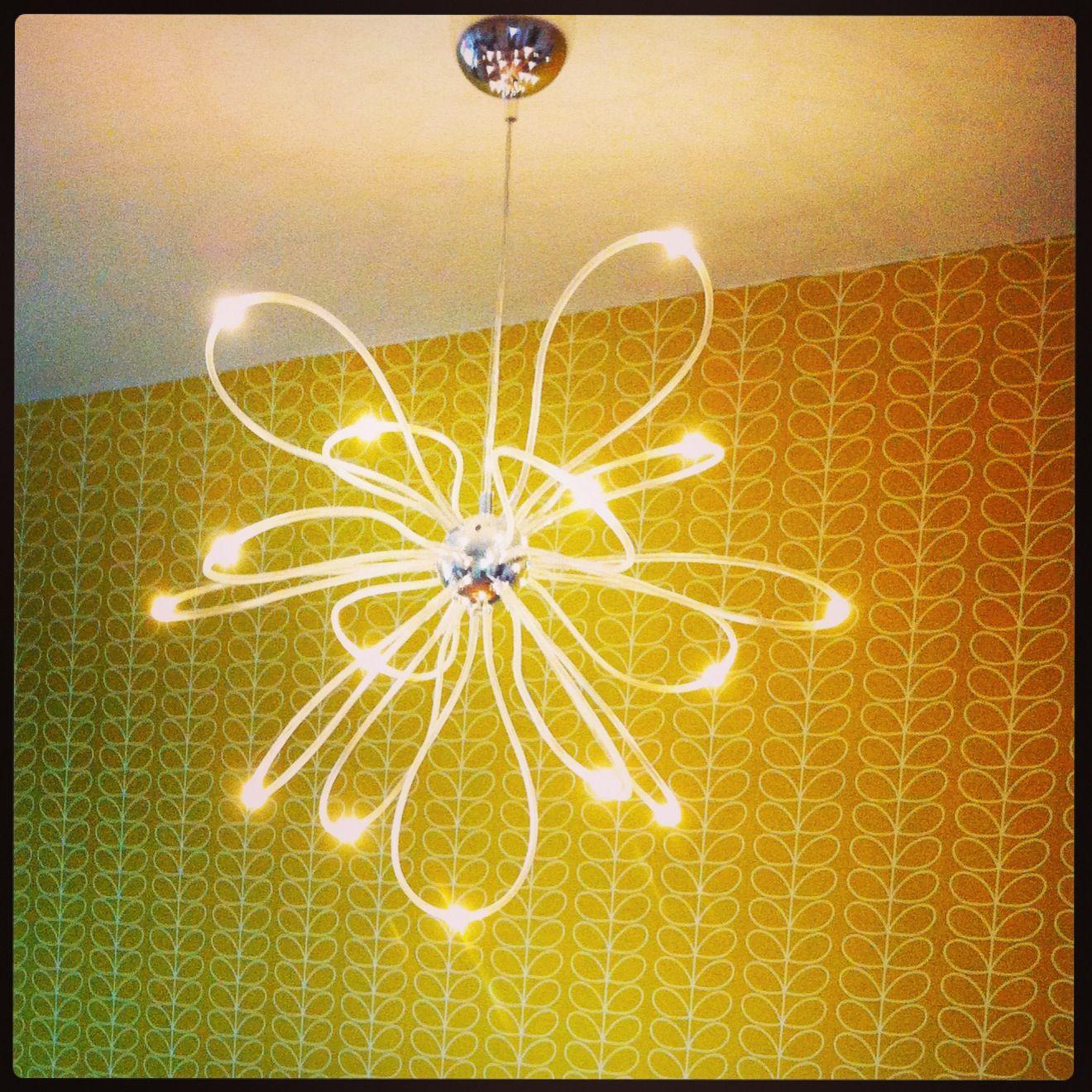 retro kitchen harlequin wallpaper ikea led light ikea