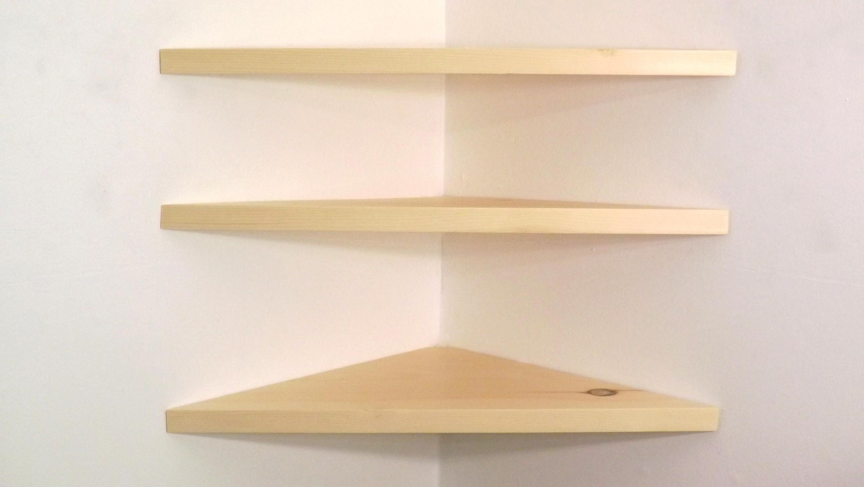 Pin By Bawoodworking On Corner Shelves Floating Corner Shelves Corner Shelves Shelves