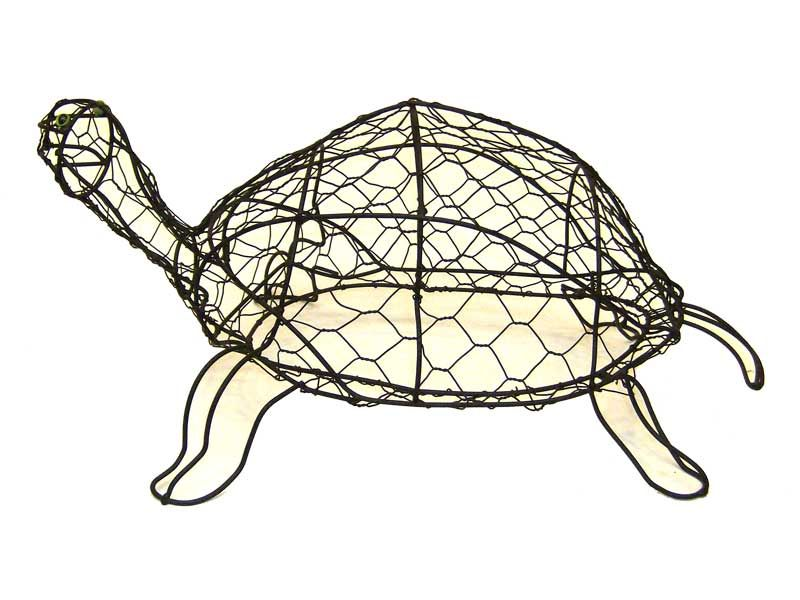 Wire Topiary Turtle Frame - WIRE Center •