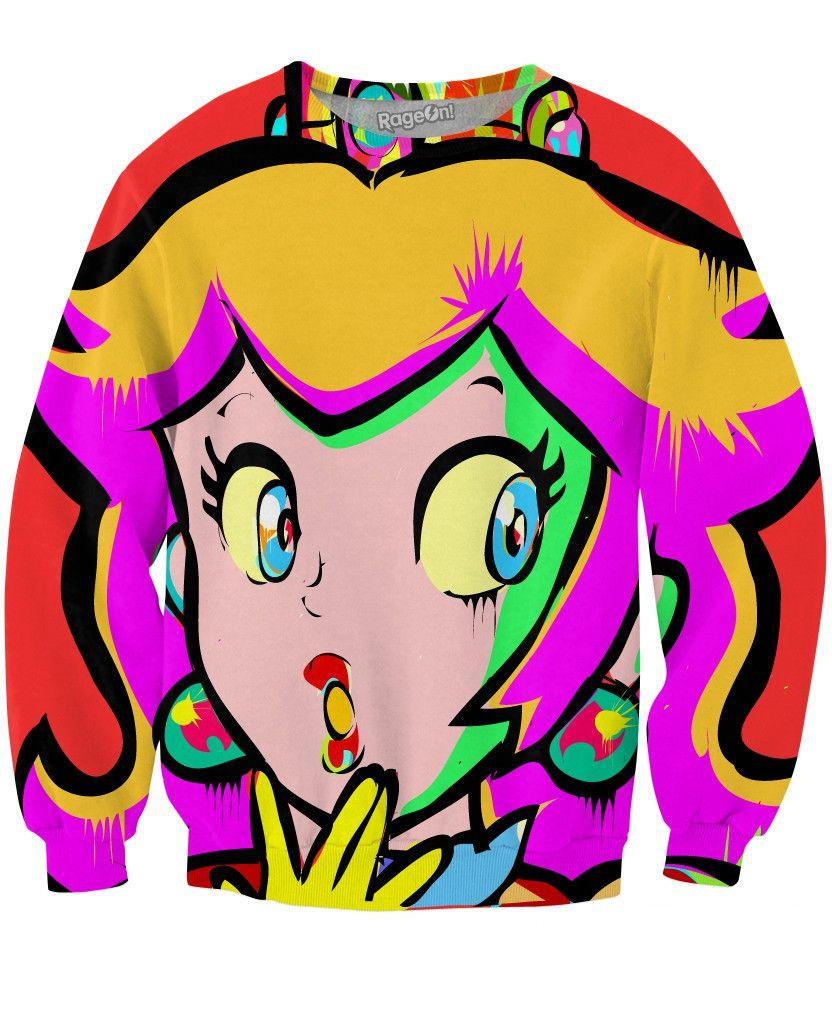 Peach Crewneck Sweatshirt Pink Crewneck Sweatshirt Crew Neck Sweatshirt Sweatshirts [ 1024 x 832 Pixel ]