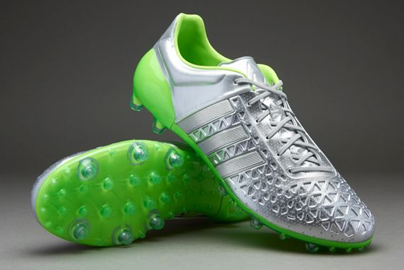 new arrival 23b97 c8c0f adidas ACE 15.1 FG/AG Eskolaite - Silver Metallic/Solar ...