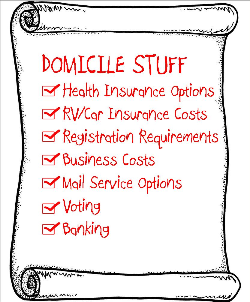 Health Insurance U0026 SD Domicile  U003e Are There Any Options Left For Younger  Fulltime RVers?
