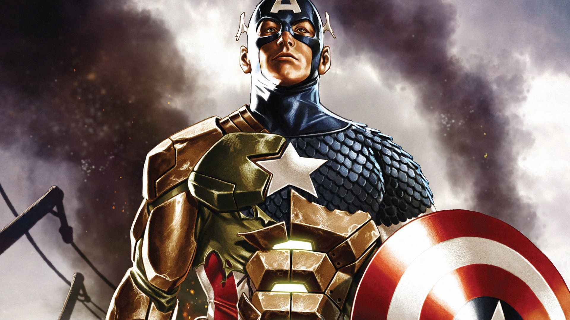 Captain America in 2019 Comic book wallpaper, Comic