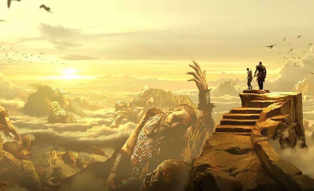 Jötunheim Tags Atreus 4treus Kratos Godofwar Gow4 Jotunheim Norsemythology Norse Ps4share Ps4 Playstation4pro God Of War Kratos God Of War War