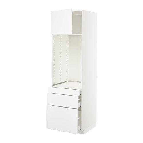 Metod Maximera Hoge Kast Dubbele Oven3 Ladesdeur Ikea