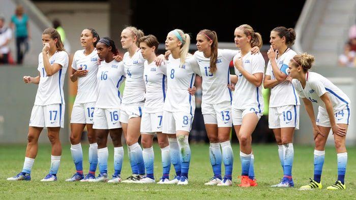Rio Olympics U S Women S Soccer Devastating Loss Sends Shockwaves Soccer Girls Soccer Team Uswnt Soccer