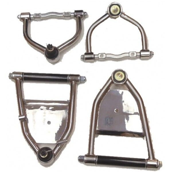 Mustang II Control Arms Air Ride Tubular Upper /& Lower A Arms Hot Rod Custom