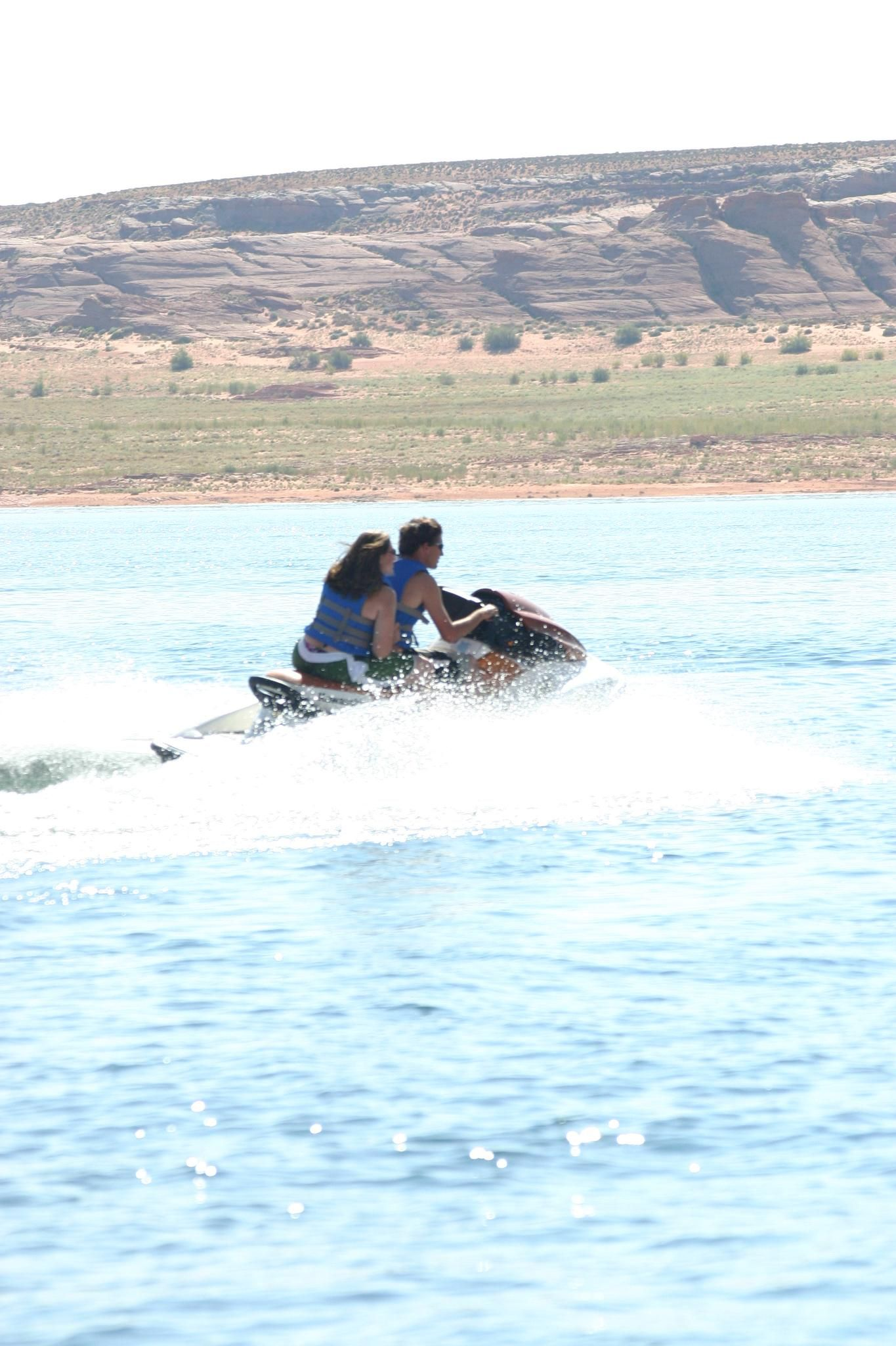 So many choices on water toys to rent at Lake Powell vacation