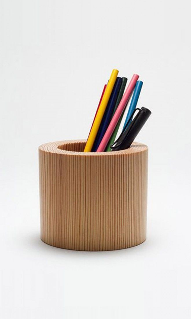 Cool gift idea awesome pencil cup gifts for guys Cool pencil holder ideas