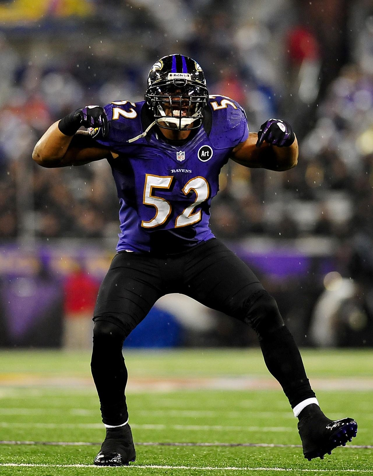The best middle linebacker to ever play the game... Ray