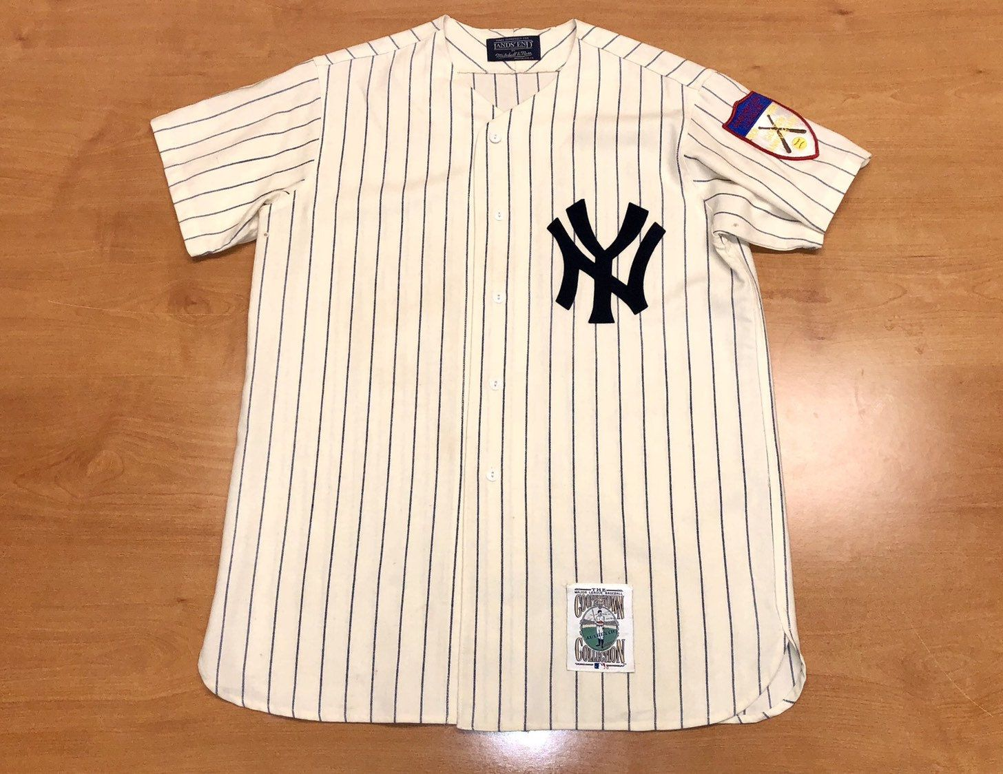 uk availability 78b9e a3729 Vintage 1990s New York Yankees Mickey Mantle Mitchell & Ness ...
