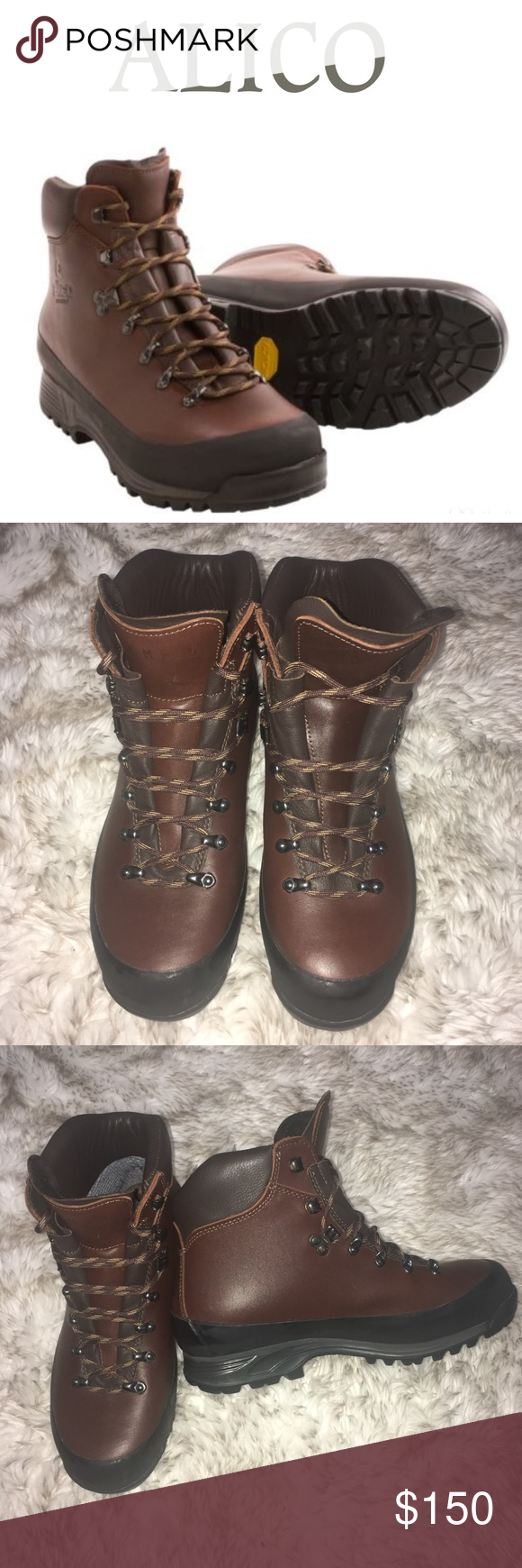 Alico Hiking Boots : alico, hiking, boots, Alico, Italy, Summit, Hiking, Boots, Leather, Alico's, Hik…, Boots,