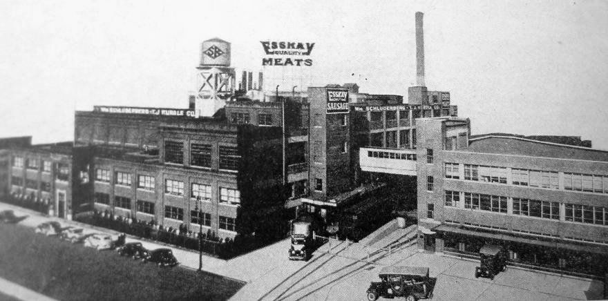 The Esskay Plant In Highlandtown My Grandfather Worked There
