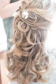 Bildergebnis Fur Hochzeitsfrisuren Locken Halb Offen Frisuren
