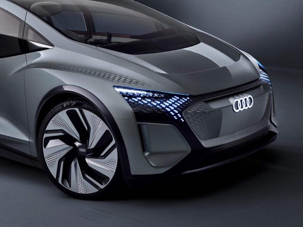 Audi AI:ME autonomy/EV concept brings Eames design, Jetsons abilities   Autoblog