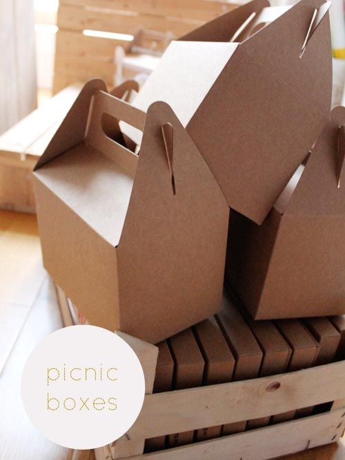 diy a picnic basket pinterest emballage boite et bo tes. Black Bedroom Furniture Sets. Home Design Ideas
