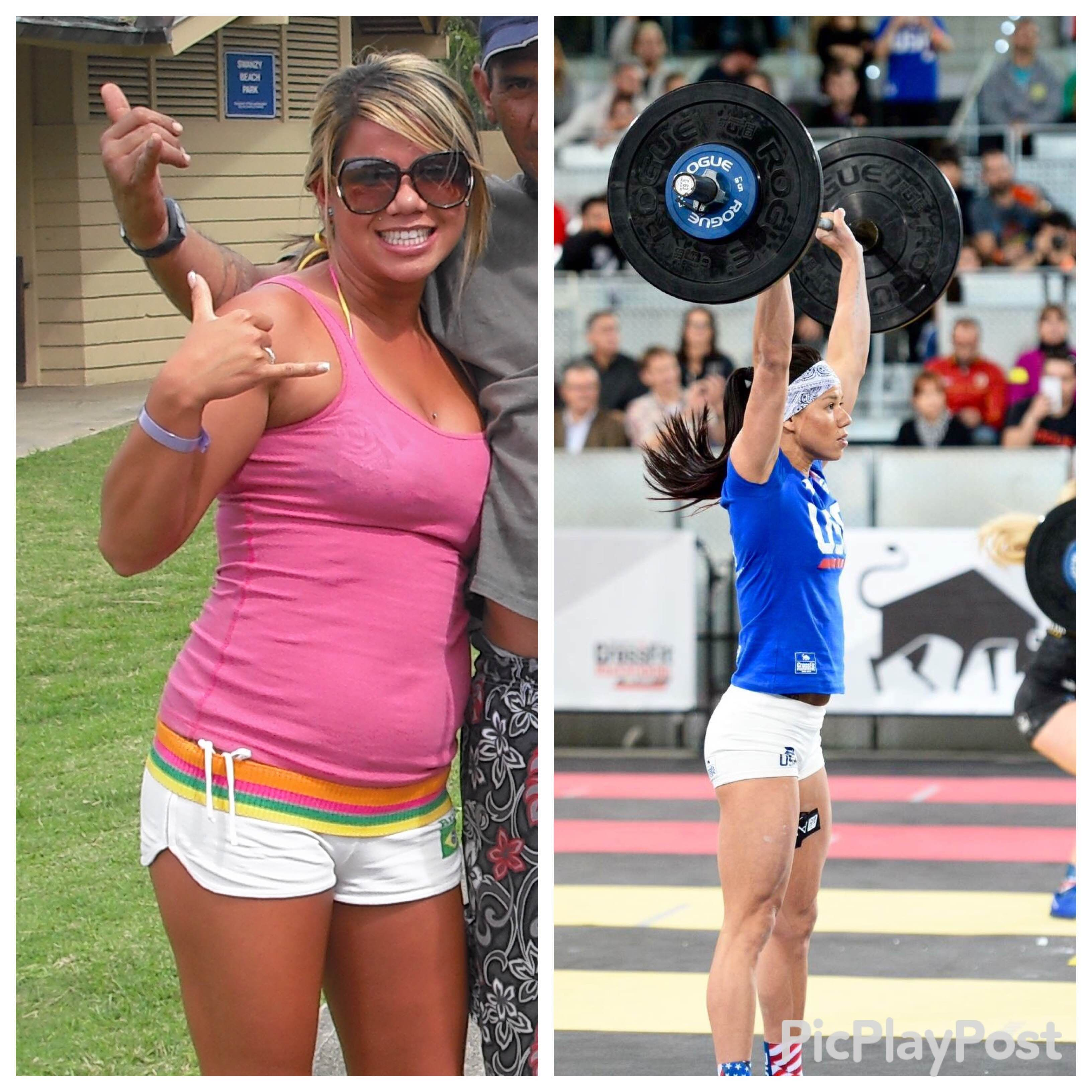 Chyna Cho before and after Crossfit | Crossfit | Pinterest ...