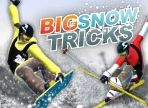 Big Snow Tricks - http://www.littlemonstersgames.com/big-snow-tricks/ -               Do amazing tricks in air with your skis or snowboard! Press SPACE for a fast start and hold and release it to jump off the cliff.   Instructions