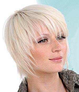 Freche Fransige Kurzhaarfrisuren Kurzhaarfrisuren Hochsteckfrisuren Feines Haar Feine Haarschnitte