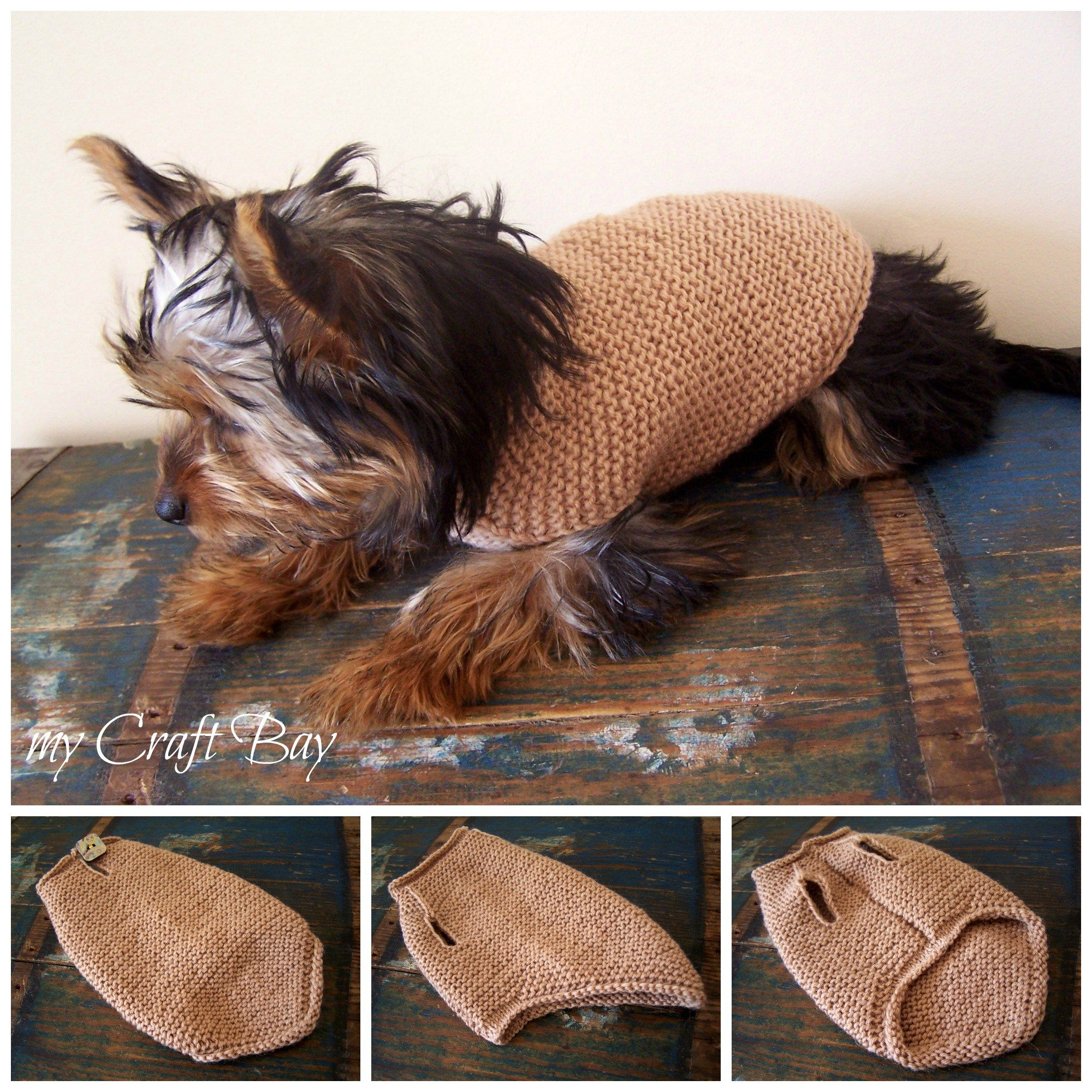 knitted dog sweater free pattern Collage | DOGS | Pinterest | Hunde ...