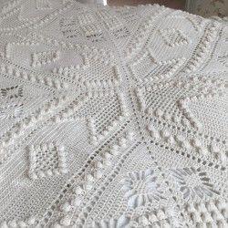 Opskrift På Hæklet Tæppe Marseille Hæklerier Crochet