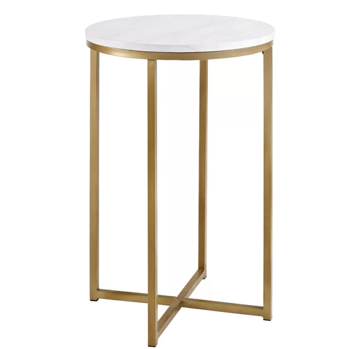 Wasser Cross Legs Coffee Table With Images Marble Side Tables