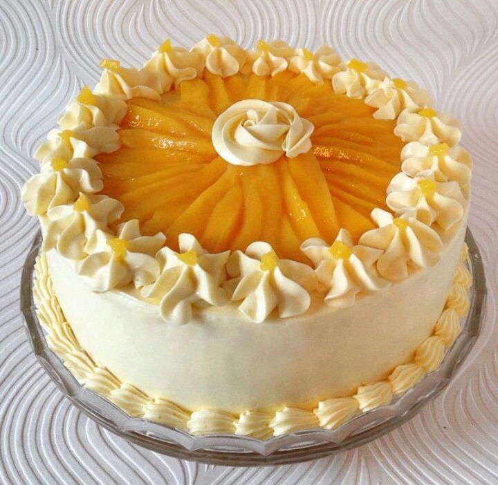 mango cream cake recipe filipino