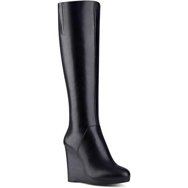 Nine West Harvee Tall Wedge Boots ($189