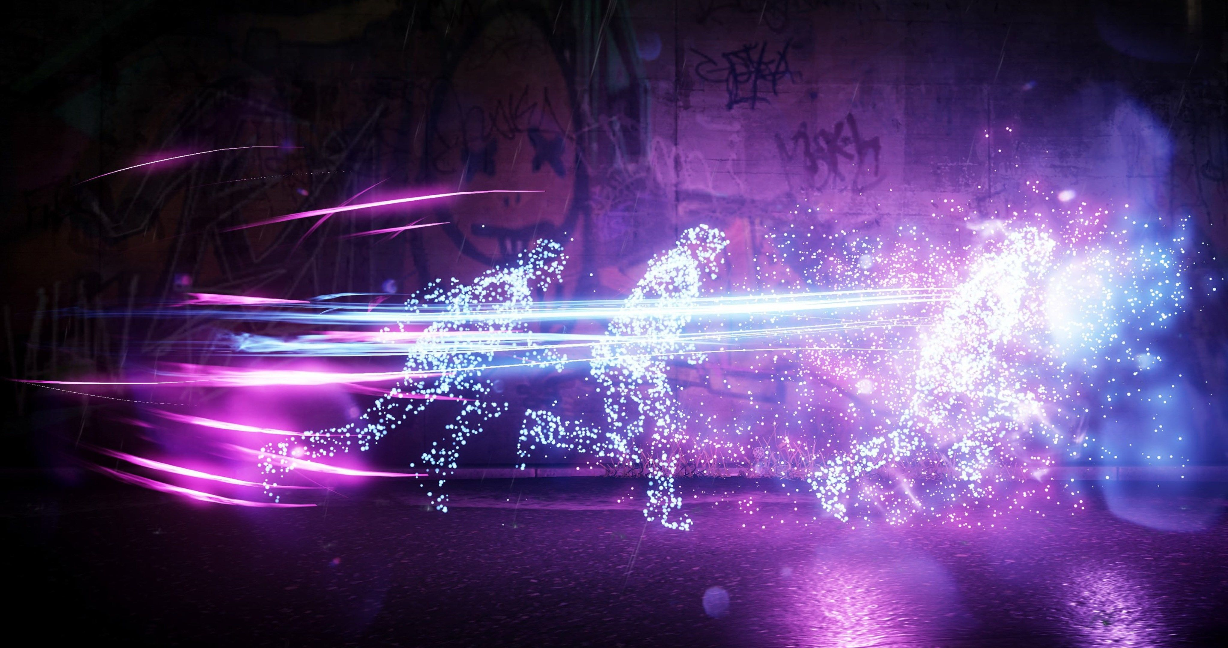 Infamous Second Son Neon 4k Ultra Hd Wallpaper Infamous Second
