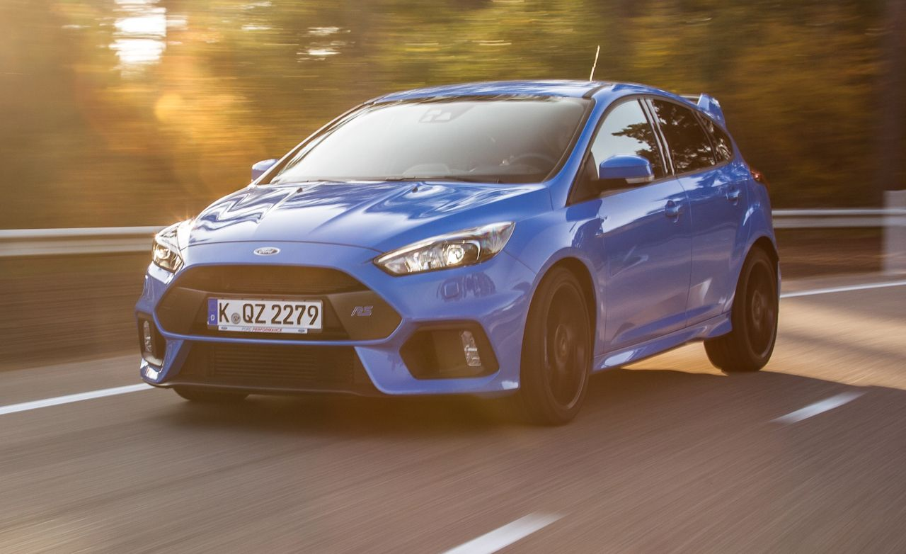 Lucky bastards at car and driver get some wheel time in the coming focus rs