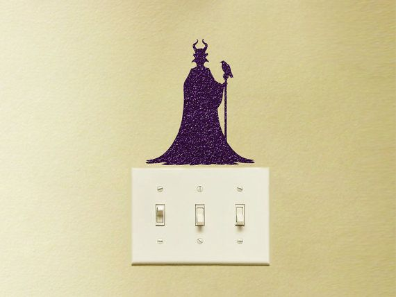 Beauty and the Beast Velvet Decal Black Fabric Nursery Wall Decor Princess Belle Disney Laptop Sticker