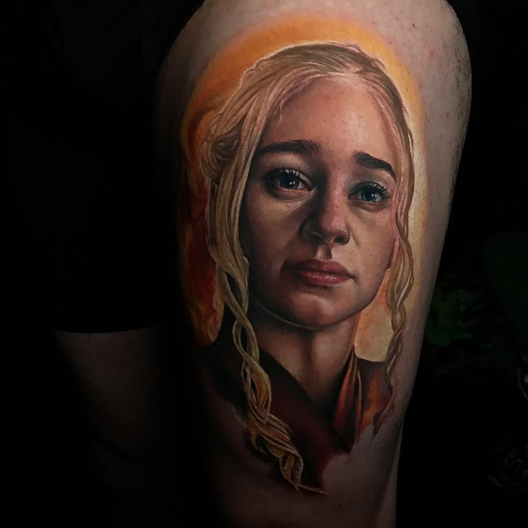 Daenerys Targaryen Tattoo By Sarah Miller Sarah Miller