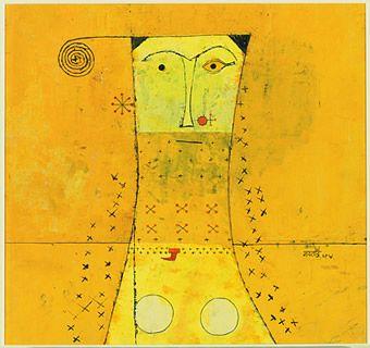 Vasudeo S.Gaitonde:UNTITLED, 1954