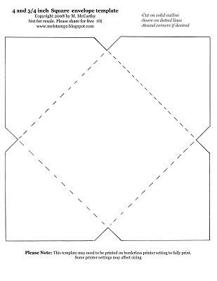I have been considering a quilted envelope for folks who run the - sample small envelope template