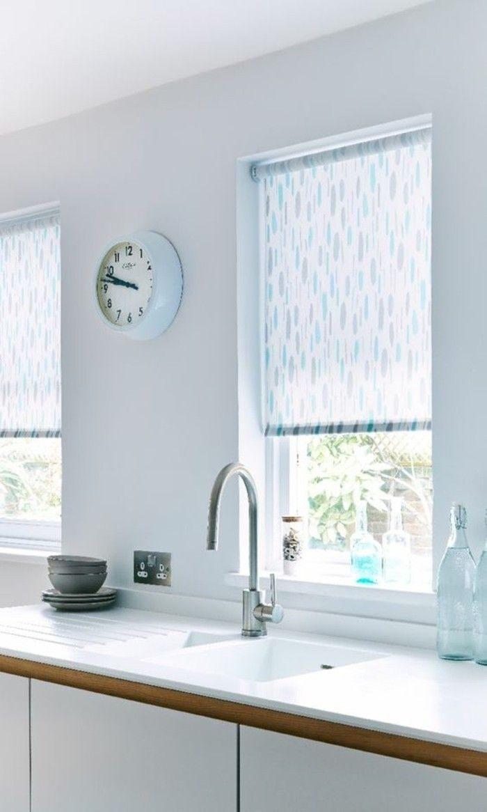 Kitchen window kitchen blinds  bambooblindsandcurtains  bamboo blinds and curtains  pinterest