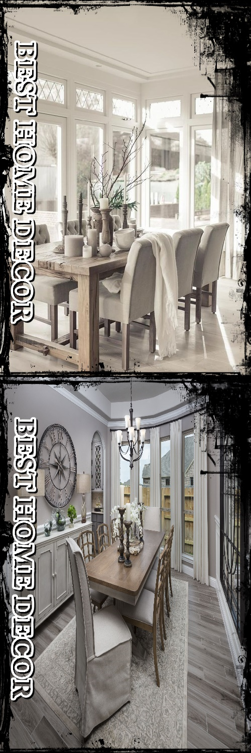 35+ Best Of Ideas For Dining Room Decor How do I make my dining room cozy? #diningroomdecor