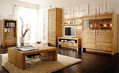 Muebles modernos con un toque rústico | Centros de entretenimiento ...