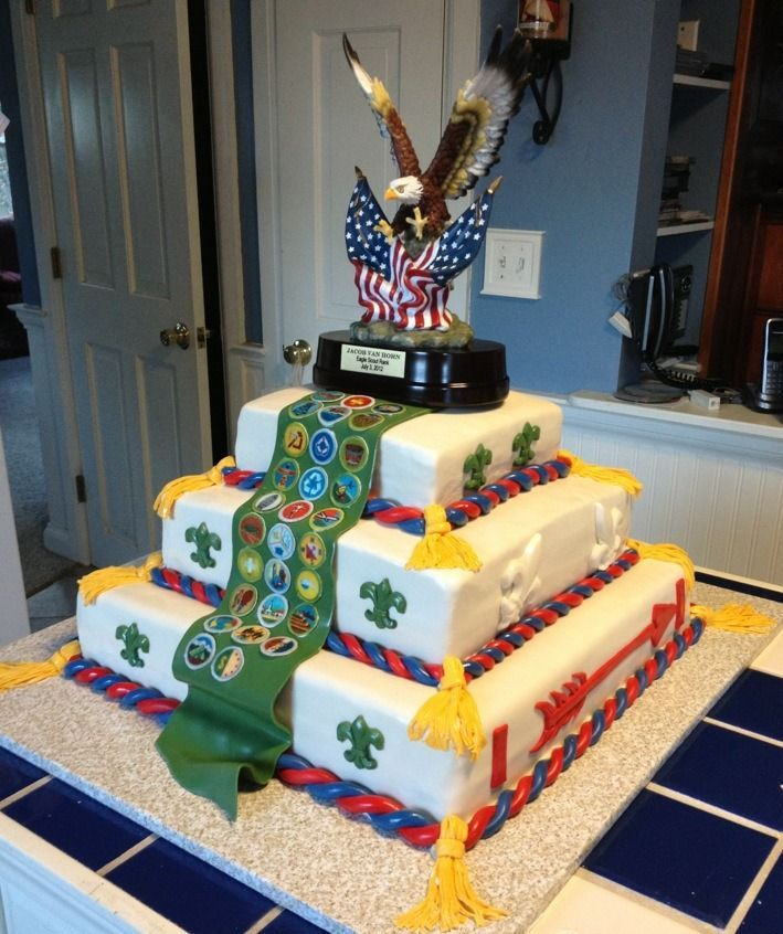 Eagle Scout With Images Eagle Scout Ceremony Eagle Scout Cake