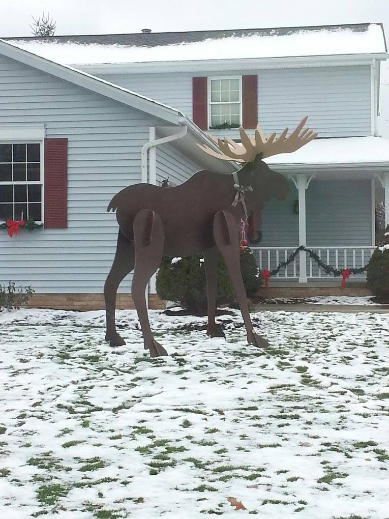 Moose Lawn Decoration Home Decorating Ideas